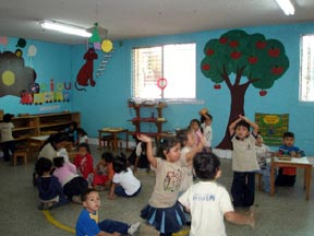 The children's play room at UPAVIM